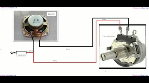 Simple Potentiometer Experiment With Speaker Youtube