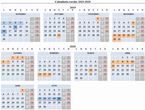 calendario escolar conselleria de educacion