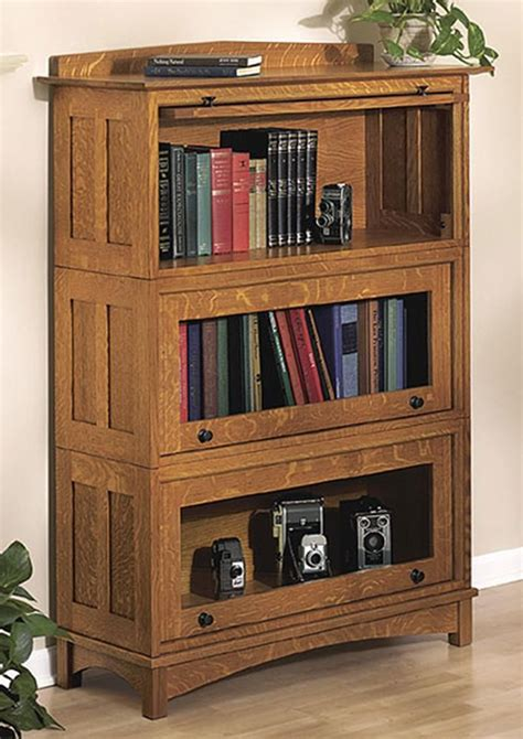 Bookcase Plans by Woodworking Plans Barrister Bookcase Woodworking