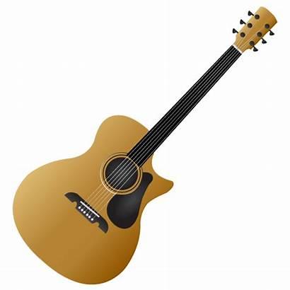 Guitar Vector Vectors Clipart Clip Digital Guitars