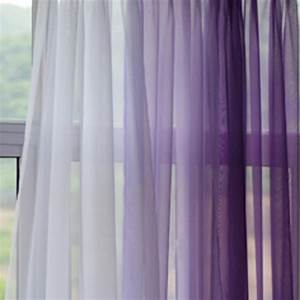 Voile silk sheer curtains for Sheer lavender curtains