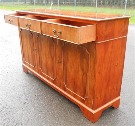 Yew Sideboards by Yew Wood Sideboard Cupboard Base