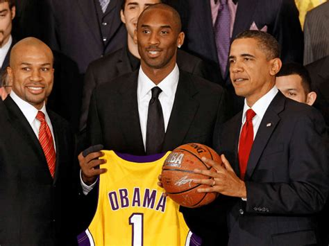 Kobe Bryant Misses Barack Obama, Misses the Personal ...