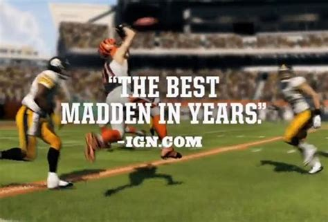 The Curious 'madden Nfl 13' Game Review Trailer