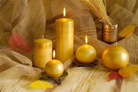 Zelta sveces | Taper candle, Candles