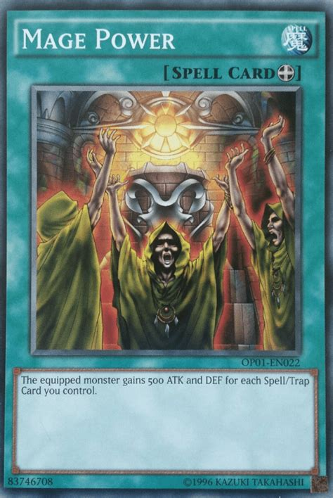 equip spells mage power yugioh yu gi oh spell cards card monster destroy extra