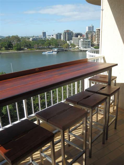 large balcony bar australian garden furniture co agfc