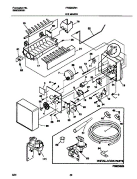 Parts For Frigidaire Frsznhb Refrigerator