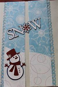 Paper Is Cm U0026 39 S Candy Cane Paper  Title And Snowman Are Made Using Templates From Cricut Cartridge