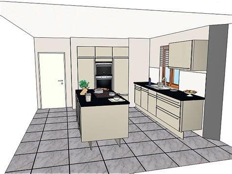 Schüllermusterküche Komplett Neue Moderne Einbauküche Mit Insellösung Ausstellungsküche In