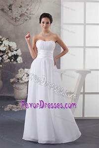 beautiful empire sweetheart ruched white dress for wedding With low price wedding dresses