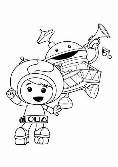 Coloring Pages Umizoomi Team Printable Nate Geo