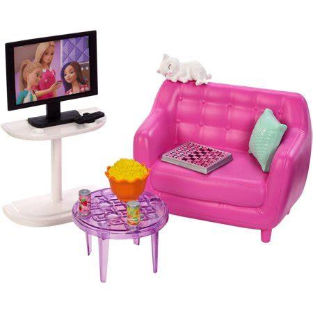barbie indoor furniture living room set  kitten