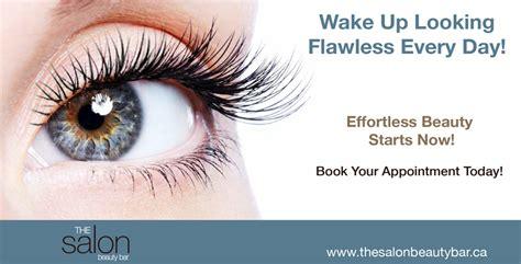 eyelash extensions  salon beauty bar