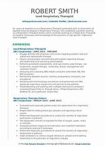 resume knowledge and skills respiratory therapist resume samples qwikresume