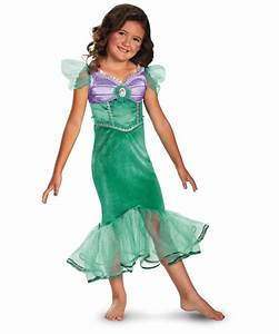 Ariel Disney Sparkle Classic Kids Costume - Girls Disney ...