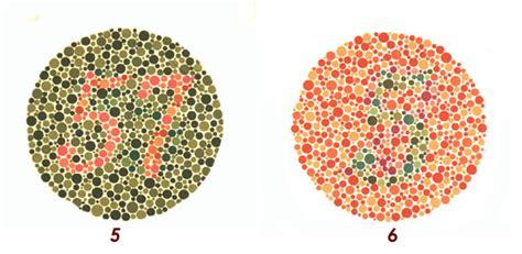 test di daltonismo esame della vista con tavola ottotipica test sul