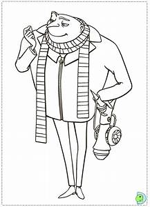 Despicable Me 2 Coloring page- DinoKids.org