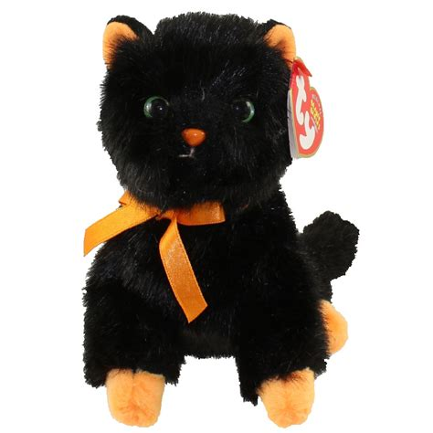ty beanie baby jinxy  cat internet exclusive