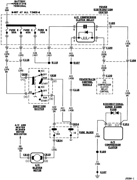 dodge durango heater fan not working 2001 dodge durango heater wiring diagram wiring diagram