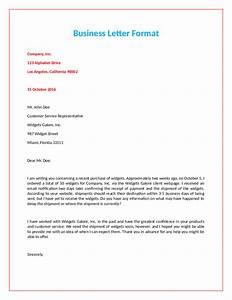 2019 Official Letter Format
