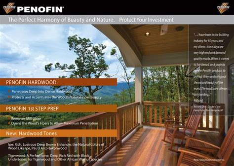 Penofin Deck Stain Application by Penofin Hardwood The Harmony Of And Nature