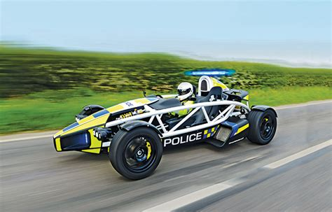 The Atom Pl1 Is The World's Fastest Police Car