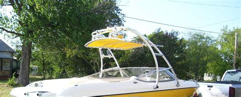 How To Build A Boat Bimini Top by Diy Wakeboard Tower Bimini Diy Do It Your Self