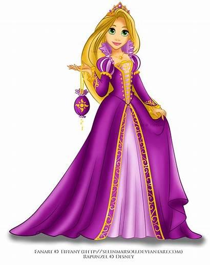 Rapunzel Disney Transparent Princesas Deviantart Princess Purple