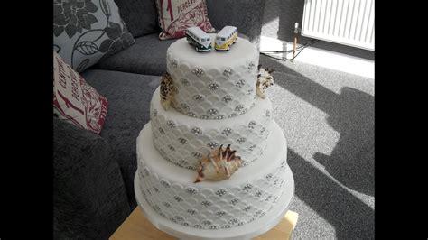 layer wedding cake