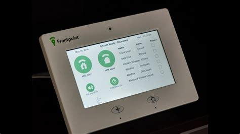 frontpoint security touch panel qolsys iq touch panel
