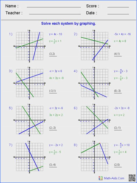 solving and graphing inequalities worksheet answer key