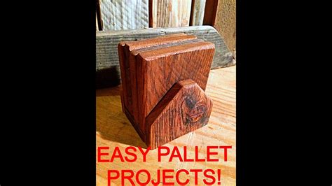 easy diy pallet projects youtube