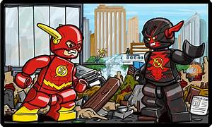 Lego Flash vs Reverse Flash New 52 by Catanas192 on DeviantArt