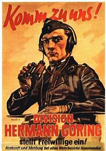 Nazi propaganda and recruiting poster from World War 2 ...