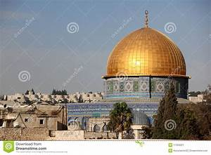 Western Wall And Dome Of The Rock Stock Image - Image ...