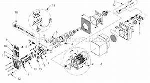 Campbell Hausfeld Pw1345b Parts List And Diagram