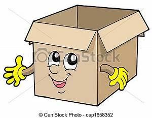 Cartons De Déménagement Gratuit : clip art de bo te mignon carton ouvert open mignon ~ Melissatoandfro.com Idées de Décoration