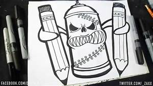 dessin bombe de peinture ii graffiti dwzaxx youtube With bombe de peinture graffiti