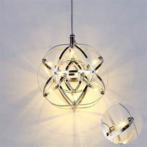 W mordern simple led globe lamp pendant light chandelier