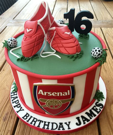 arsenal football birthday cake moy football cake