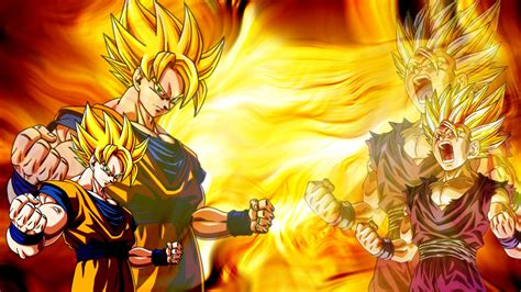 Super Saiyans Wallpaper ·①