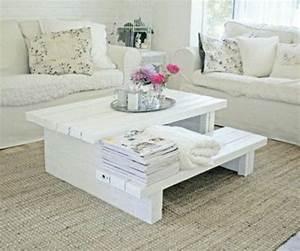 Table Basse Palettes : les 25 meilleures id es de la cat gorie table basse ~ Melissatoandfro.com Idées de Décoration