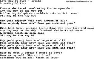 Love Song Lyrics