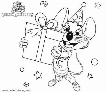 Chuck Cheese Coloring Printable Friends Chucky Birthday