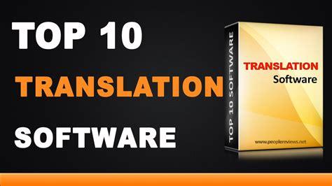 Best Translators by Best Translation Software Top 10 List