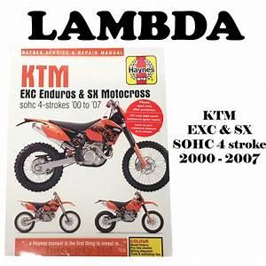 Ktm 525xc Shop Manual