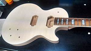 Byo Or Bulldog Les Paul Style Guitar Kit Unfinished