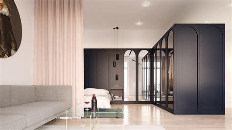minimalist apartment interior design combines  simple range  uniquely soviet styles roohome