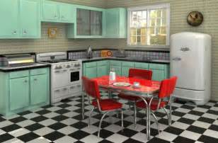 1950s kitchen furniture retro interior ideas furnish burnish